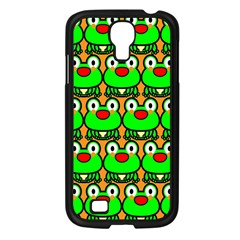 Sitfrog Orange Green Frog Samsung Galaxy S4 I9500/ I9505 Case (Black)