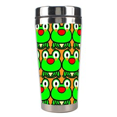 Sitfrog Orange Green Frog Stainless Steel Travel Tumblers