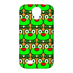 Sitfrog Orange Green Frog Samsung Galaxy S4 Classic Hardshell Case (PC+Silicone)