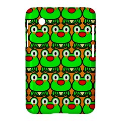 Sitfrog Orange Green Frog Samsung Galaxy Tab 2 (7 ) P3100 Hardshell Case