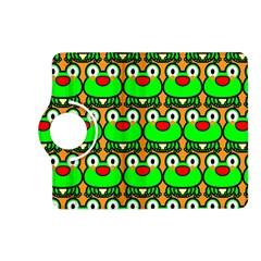 Sitfrog Orange Green Frog Kindle Fire HD (2013) Flip 360 Case