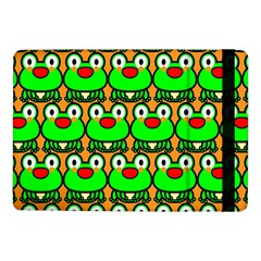 Sitfrog Orange Green Frog Samsung Galaxy Tab Pro 10.1  Flip Case