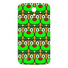 Sitfrog Orange Green Frog Samsung Galaxy Mega I9200 Hardshell Back Case