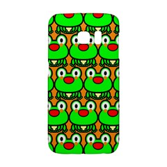 Sitfrog Orange Green Frog Galaxy S6 Edge