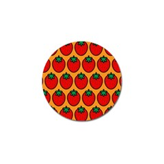 Strawberry Orange Golf Ball Marker