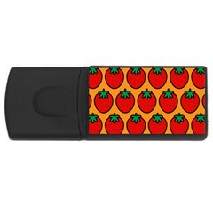 Strawberry Orange USB Flash Drive Rectangular (1 GB)