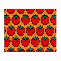 Strawberry Orange Small Glasses Cloth