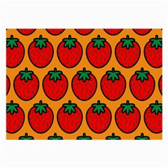 Strawberry Orange Large Glasses Cloth (2-Side)