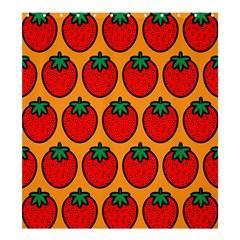 Strawberry Orange Shower Curtain 66  x 72  (Large)