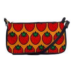 Strawberry Orange Shoulder Clutch Bags