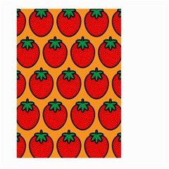 Strawberry Orange Large Garden Flag (Two Sides)