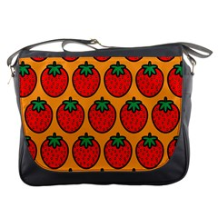 Strawberry Orange Messenger Bags