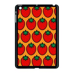 Strawberry Orange Apple iPad Mini Case (Black)