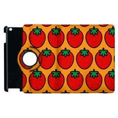 Strawberry Orange Apple iPad 2 Flip 360 Case