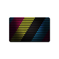 Techno Music Magnet (Name Card)