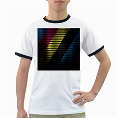 Techno Music Ringer T-Shirts
