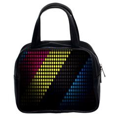 Techno Music Classic Handbags (2 Sides)