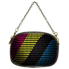 Techno Music Chain Purses (One Side)