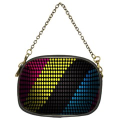Techno Music Chain Purses (Two Sides)