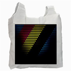 Techno Music Recycle Bag (One Side)