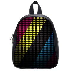 Techno Music School Bags (Small)