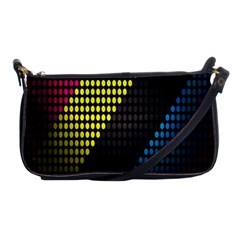 Techno Music Shoulder Clutch Bags