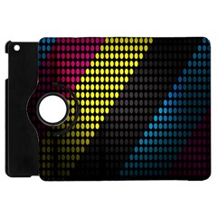 Techno Music Apple iPad Mini Flip 360 Case