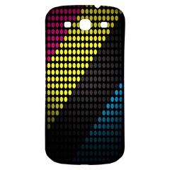 Techno Music Samsung Galaxy S3 S III Classic Hardshell Back Case