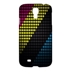 Techno Music Samsung Galaxy S4 I9500/I9505 Hardshell Case