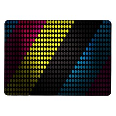 Techno Music Samsung Galaxy Tab 10.1  P7500 Flip Case