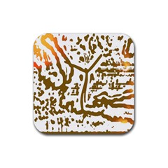 The Dance Rubber Square Coaster (4 pack)