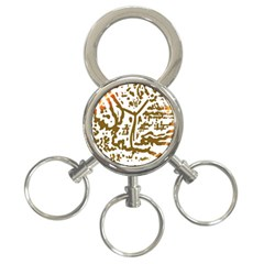 The Dance 3-Ring Key Chains