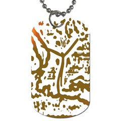The Dance Dog Tag (Two Sides)