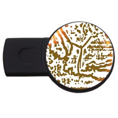The Dance USB Flash Drive Round (2 GB)