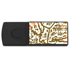 The Dance USB Flash Drive Rectangular (1 GB)