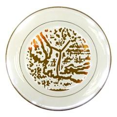 The Dance Porcelain Plates