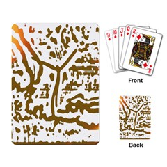 The Dance Playing Card