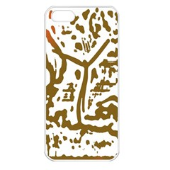 The Dance Apple iPhone 5 Seamless Case (White)