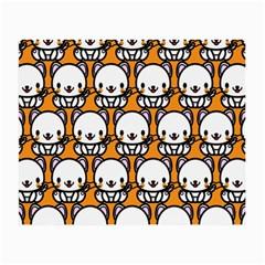 Sitwhite Cat Orange Small Glasses Cloth