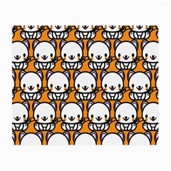 Sitwhite Cat Orange Small Glasses Cloth (2-Side)