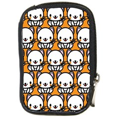 Sitwhite Cat Orange Compact Camera Cases