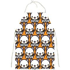 Sitwhite Cat Orange Full Print Aprons