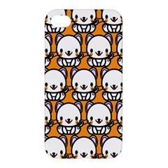 Sitwhite Cat Orange Apple iPhone 4/4S Premium Hardshell Case