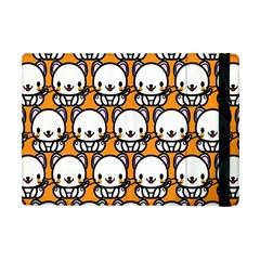Sitwhite Cat Orange Apple iPad Mini Flip Case