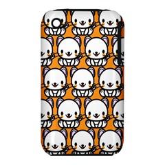Sitwhite Cat Orange iPhone 3S/3GS