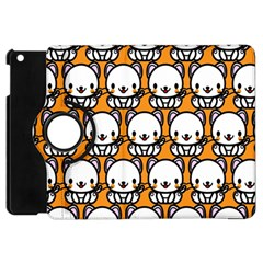 Sitwhite Cat Orange Apple iPad Mini Flip 360 Case