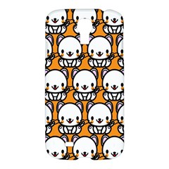 Sitwhite Cat Orange Samsung Galaxy S4 I9500/I9505 Hardshell Case