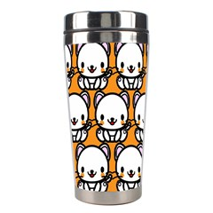 Sitwhite Cat Orange Stainless Steel Travel Tumblers