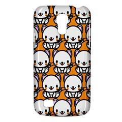 Sitwhite Cat Orange Galaxy S4 Mini