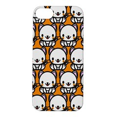 Sitwhite Cat Orange Apple iPhone 5S/ SE Hardshell Case